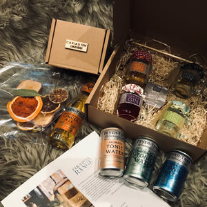 Cariad Gin Taster Gift Box Collection 100ml x 4