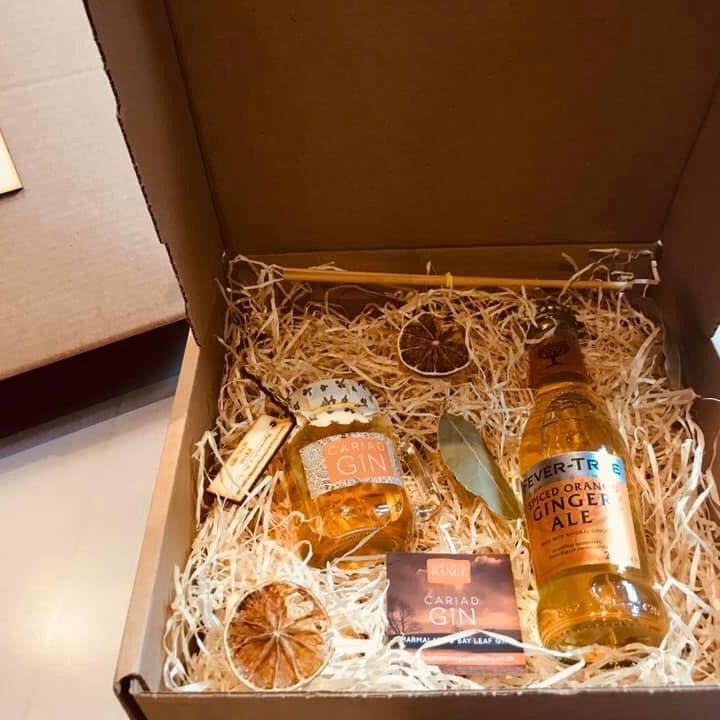 Marmalade & Bay Leaf Gin Gift Box 100ml