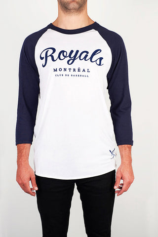 Montreal Royals Baseball Raglan - Main and Local