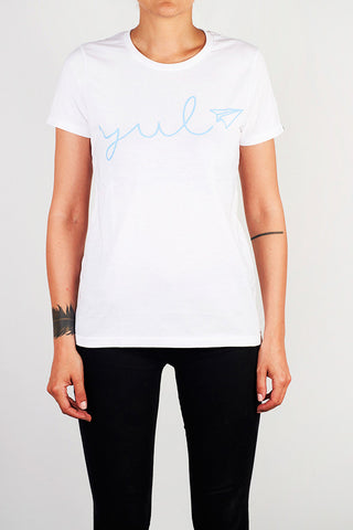 YUL Ladies Tee - Main and Local