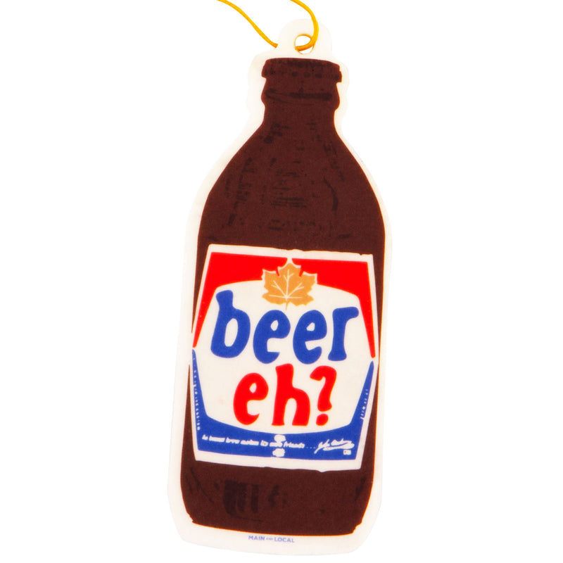 Beer Eh? Air Freshener - Main and Local