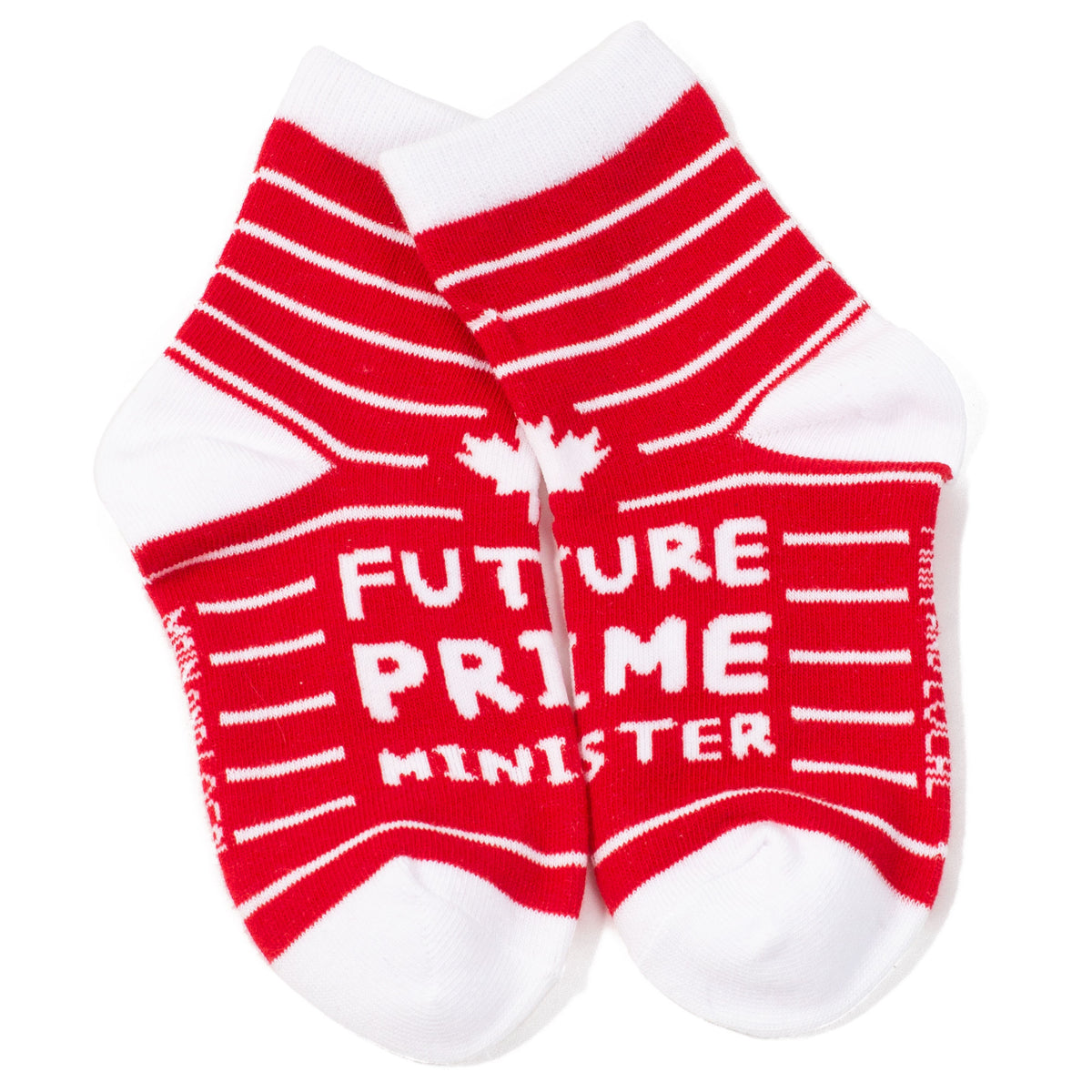 Childrens Future Prime Minister Socks - Red