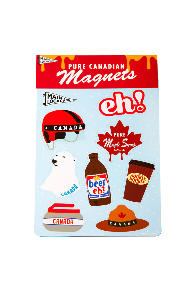 Canadian Icon Magnets - Main and Local