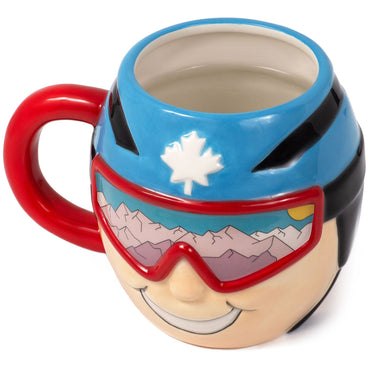 Tasse thermo-changeante pour sports d'hiver