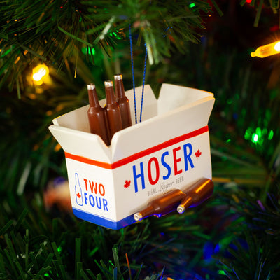 Hoser Beer Ornament - Main and Local