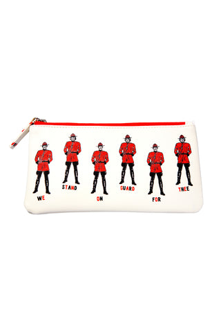 Canadian Mountie Pencil case - Main and Local