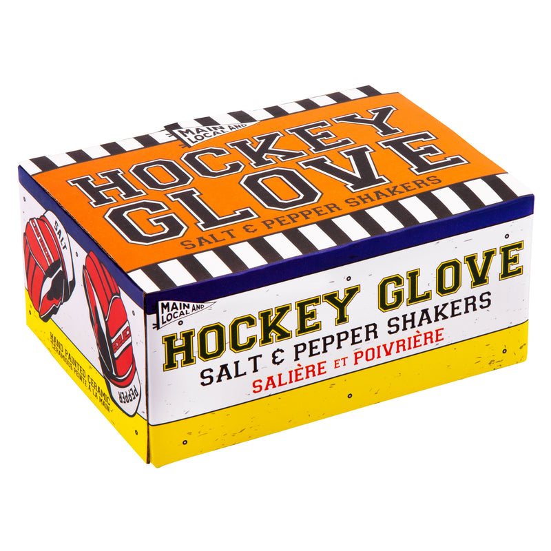 Hockey Gloves Salt and Pepper Shakers - Main and Local