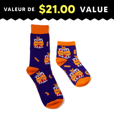 Daddy & Me Cheezies Socks Pack