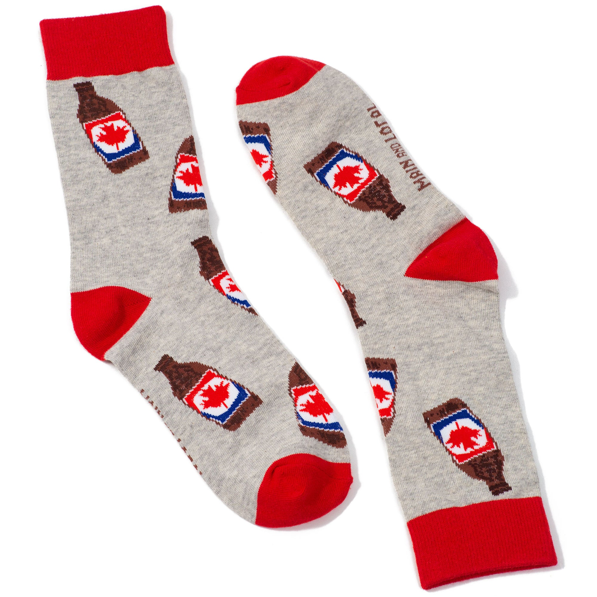 Canada Beer Socks - Main and Local