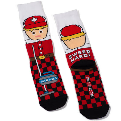 Canadian Curler Socks - Main and Local