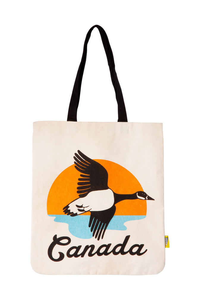 Canadian Goose Tote Bag - Main and Local