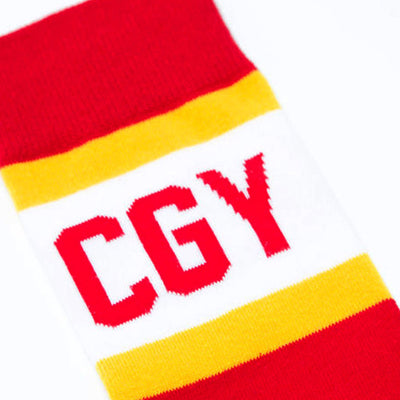 Calgary City Stripes Socks