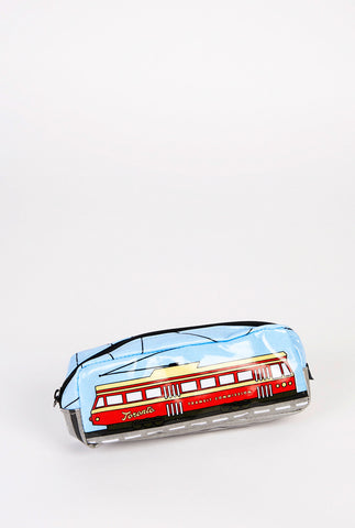 Toronto Streetcar Pencil Case - Main and Local