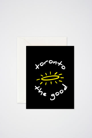 Toronto The Good Greeting Card - Main and Local