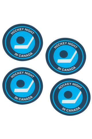 Official Hockey Night In Canada Coasters - Main and Local