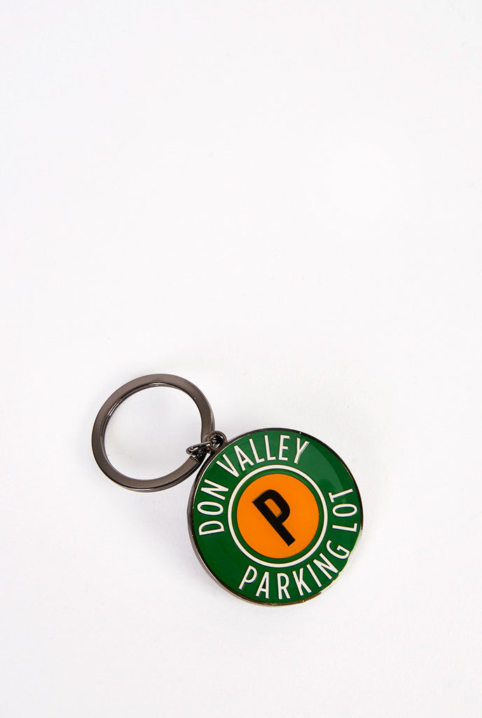Don Valley Parking Lot Keychain - Main and Local