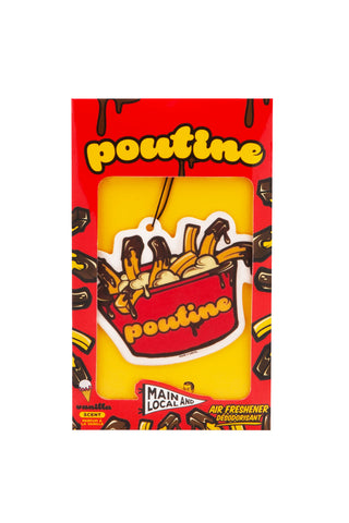 Poutine Air Freshener - Main and Local