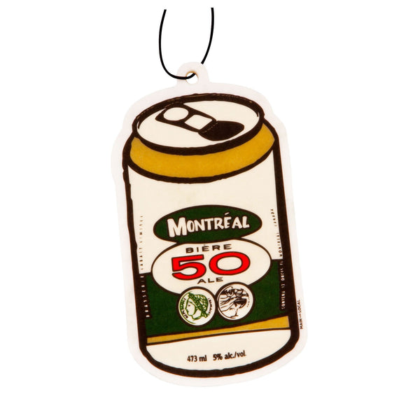 Montreal Beer Can Air Freshener