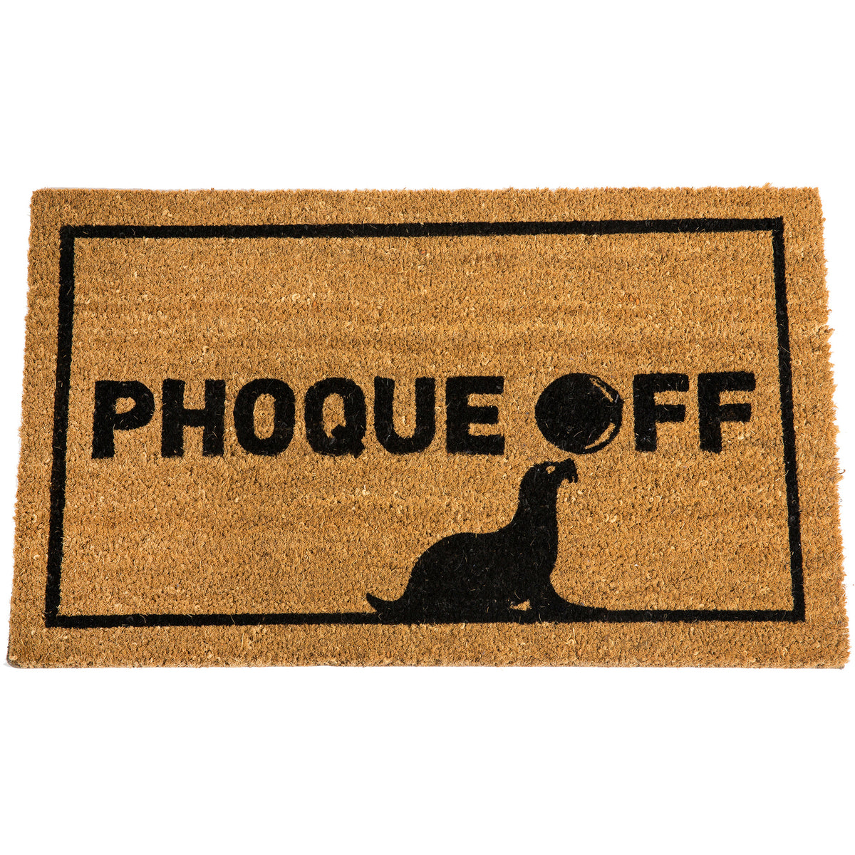 Phoque Off Door Mat - Main and Local