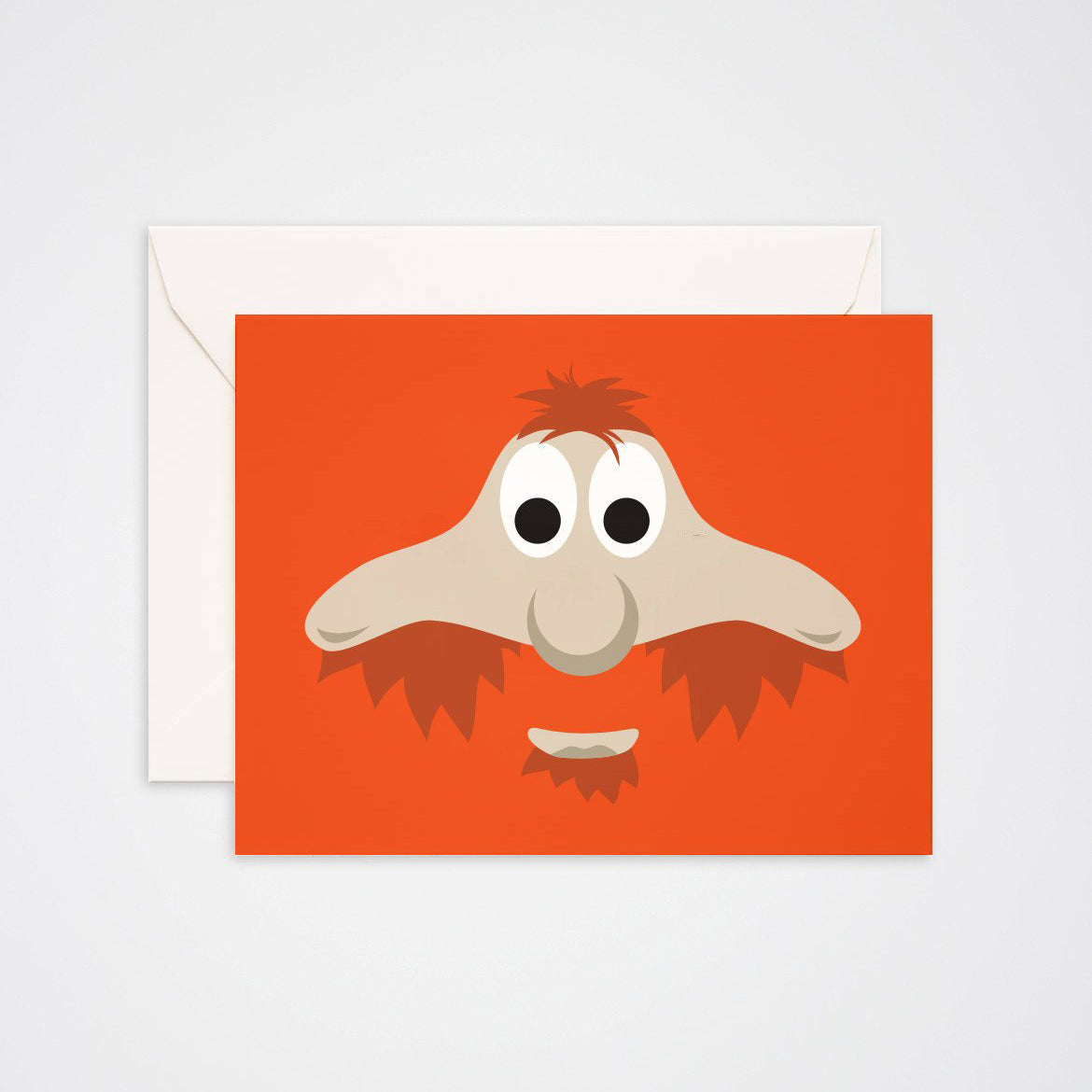 Youppi Greeting Card - Main and Local