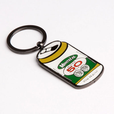 Montreal Beer Can Keychain - Main and Local