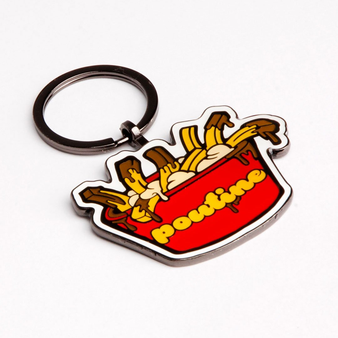 Poutine Keychain - Main and Local