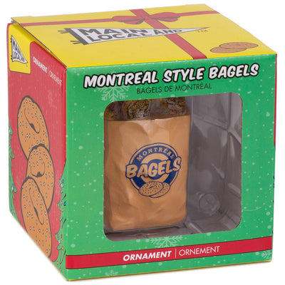 Montreal Bagel Ornament - Main and Local
