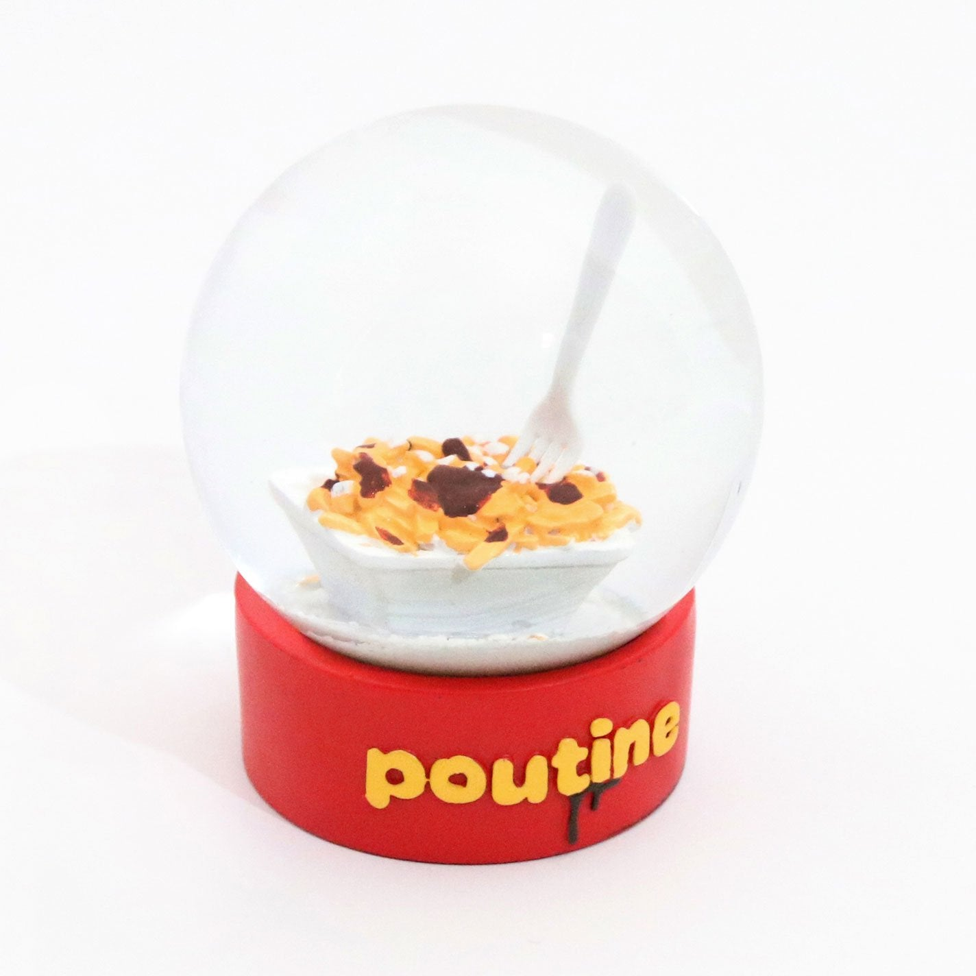 Poutine Snowglobe - Main and Local
