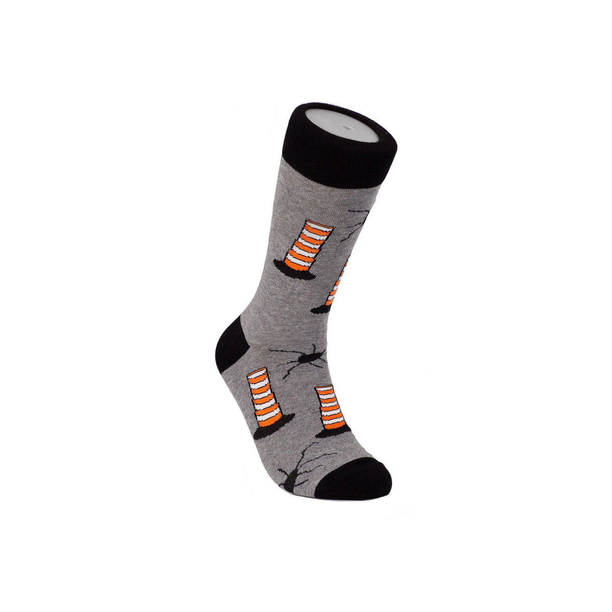 Montreal Construction Cone Socks