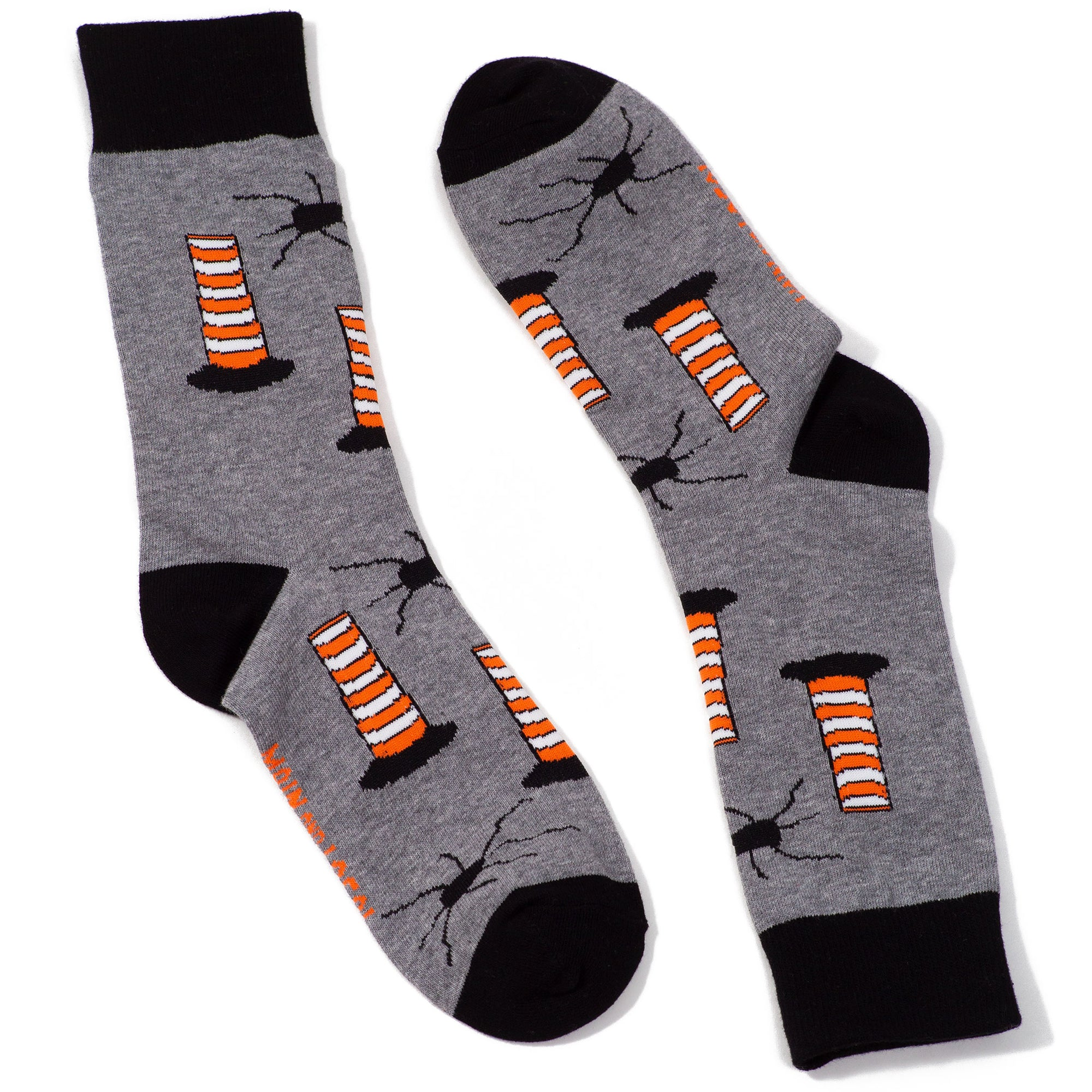 Montreal Construction Cone Socks - Main and Local