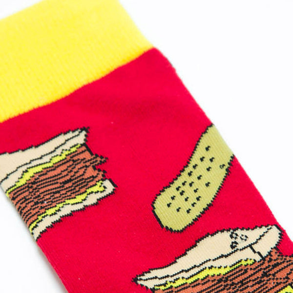 Montreal Smoked Meat and Pickle Socks