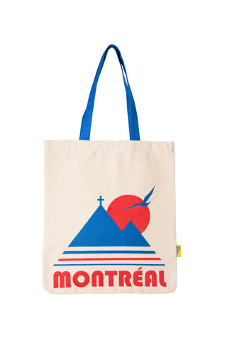 Montreal Vintage Tote Bag - Main and Local