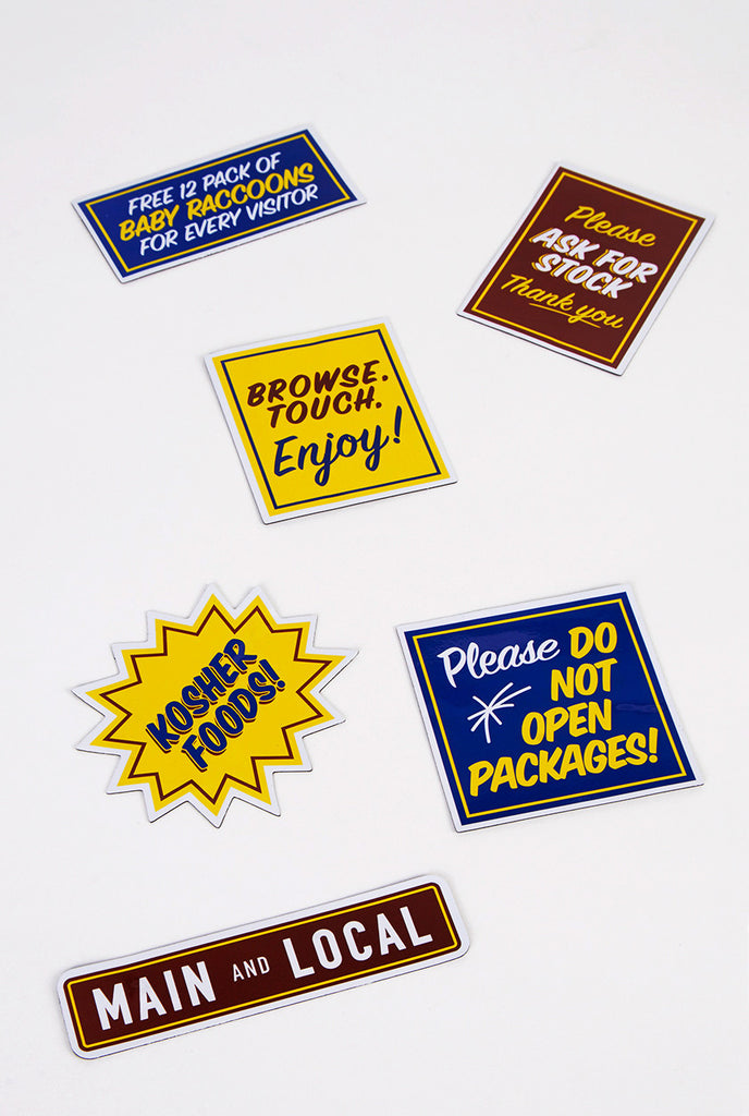 Honest Ed's Magnet Pack - Main and Local
