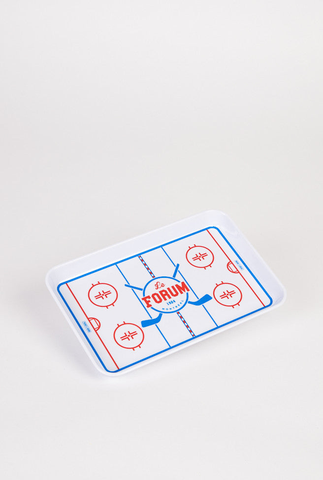 Montreal Forum Tray - Main and Local