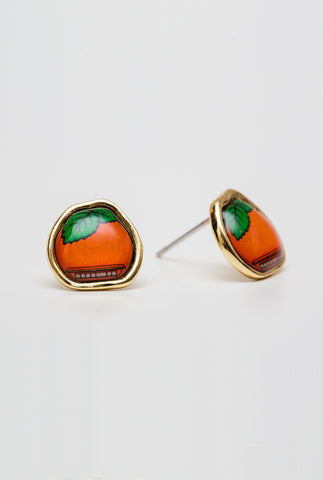 Orange Julep Earrings - Main and Local