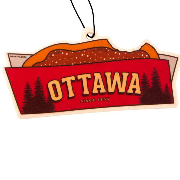 Ottawa BeaverTails® Pastry Air Freshener - Main and Local