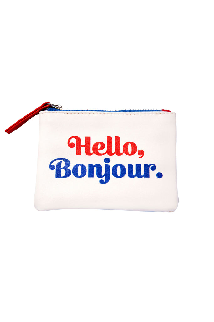 Hello Bonjour Coin Purse - Main and Local