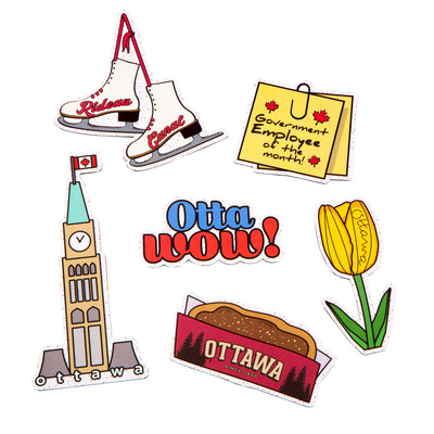 Ottawa Icon Magnet Pack