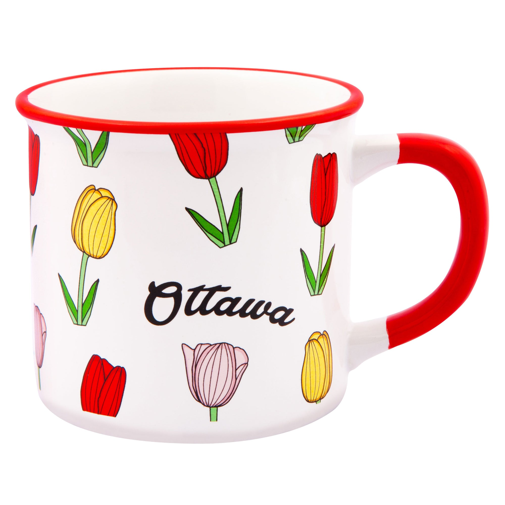 Ottawa Tulips Mug - Main and Local