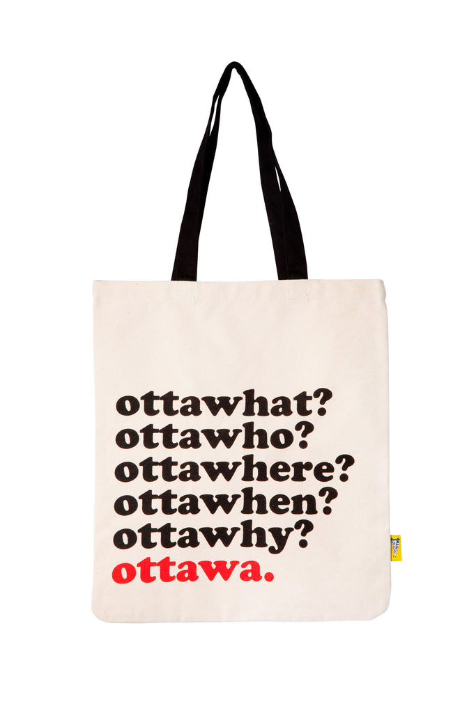 Ottawhat? Tote Bag - Main and Local