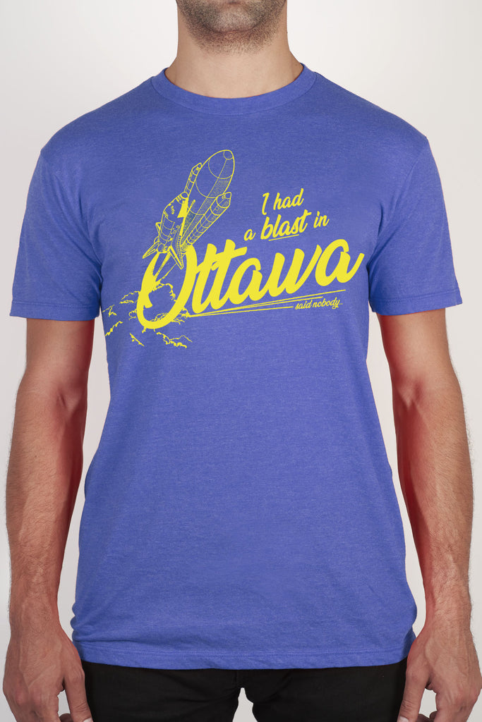 "The ""I had a blast in Ottawa - said nobody"" Tee - Main and Local"