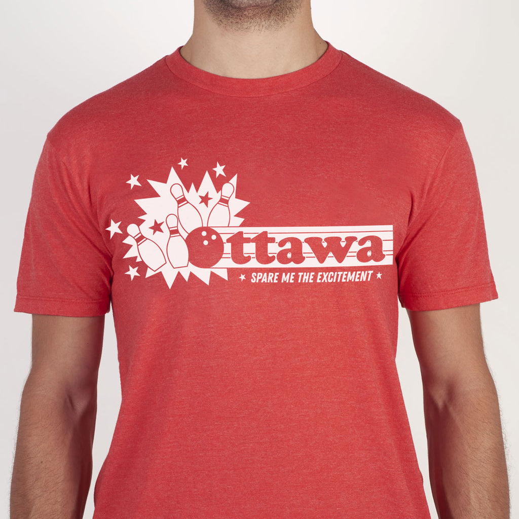 Spare Me The Excitement Ottawa Tee - Main and Local