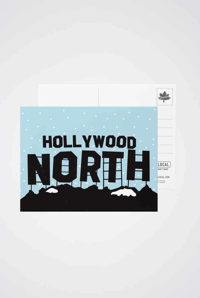 Hollywood North Post Card - Main and Local