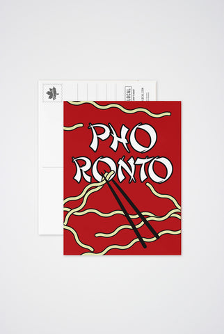 PhoRonto Post Card - Main and Local