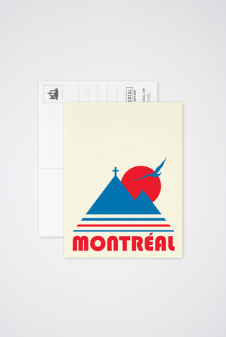 Montreal Vintage Post Card - Main and Local