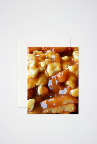 Poutine Greeting Card - Main and Local