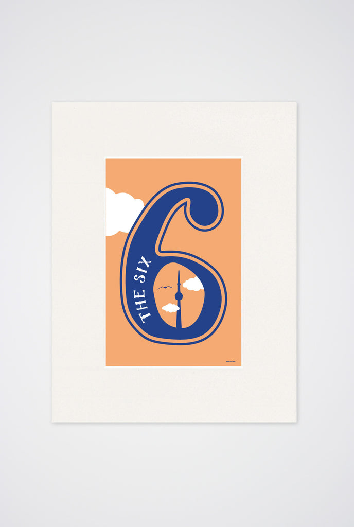 The 6 Art Print - Main and Local