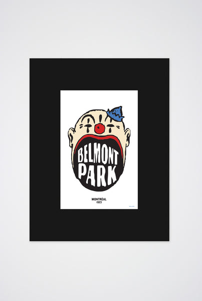 Belmont Park Art Print - Main and Local