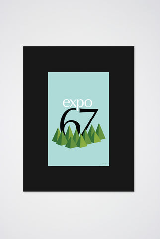 Expo 67 Art Print - Main and Local