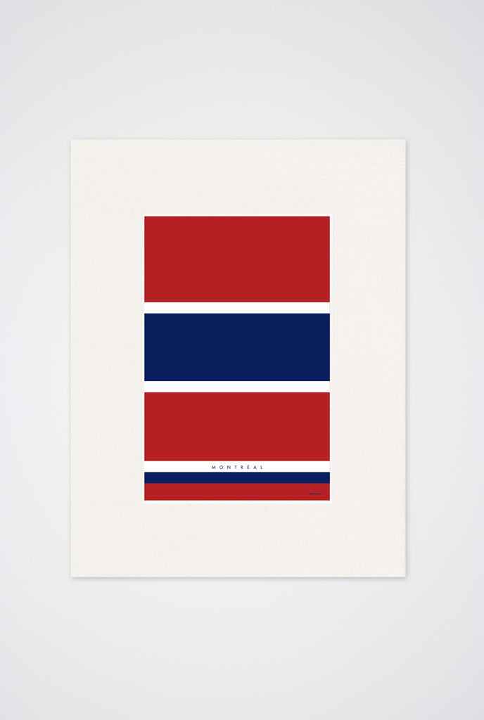 Tricolore Art Print - Main and Local